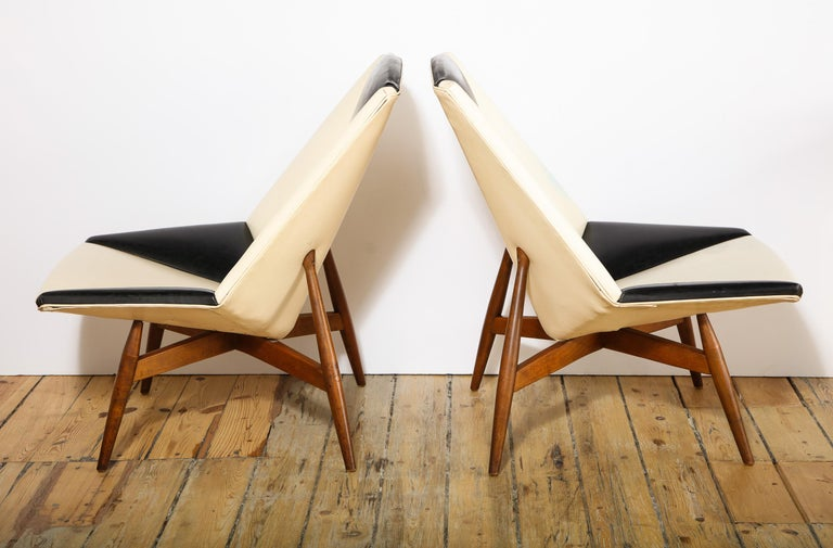 Pair of Midcentury Armchairs For Sale 3