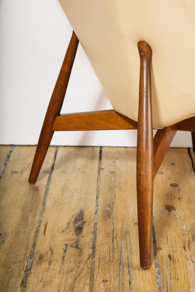 Pair of Midcentury Armchairs For Sale 5