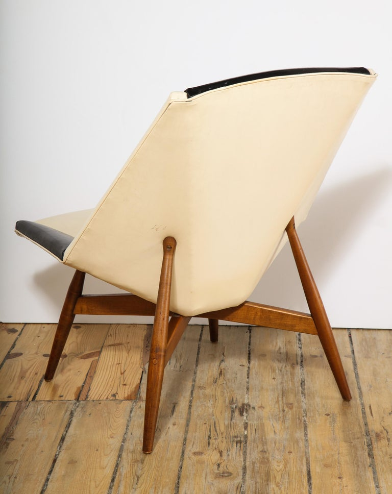 Pair of Midcentury Armchairs For Sale 9