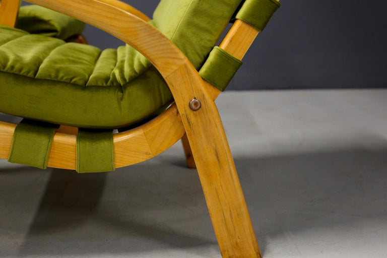Pair of Midcentury Armchairs Gustavo Pulitzer and Giorgio Lacht, 1930s For Sale 5