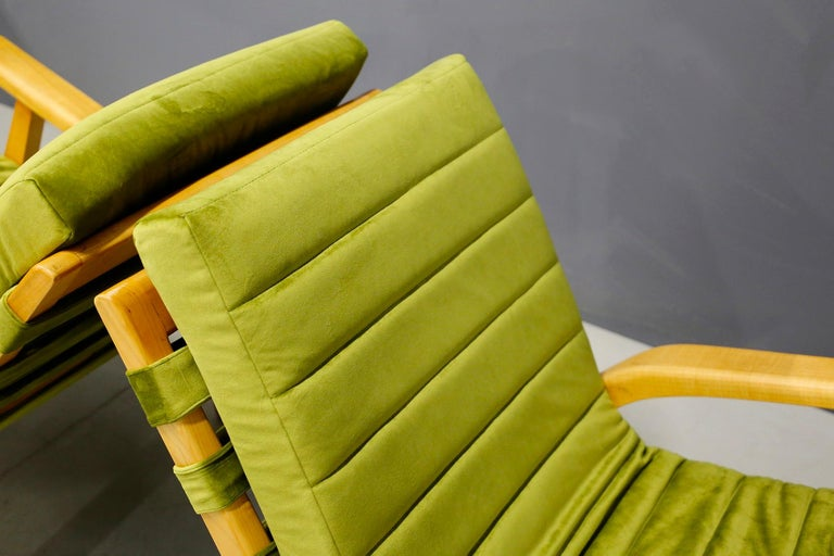 Mid-20th Century Pair of Midcentury Armchairs Gustavo Pulitzer and Giorgio Lacht, 1930s For Sale