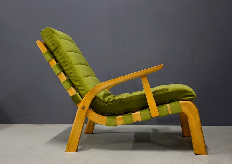 Pair of Midcentury Armchairs Gustavo Pulitzer and Giorgio Lacht, 1930s For Sale 1