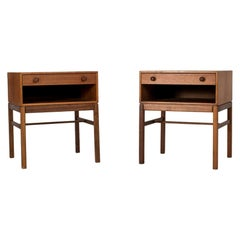 Pair of Midcentury Bedside Tables by Sven Engström and Gunnar Myrstrand
