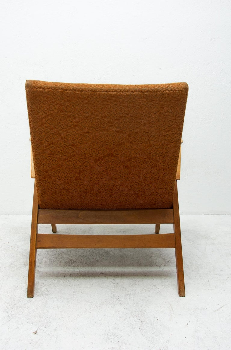 Pair of Midcentury Bentwood Armchairs by František Jirák for Tatra Nábytok For Sale 7