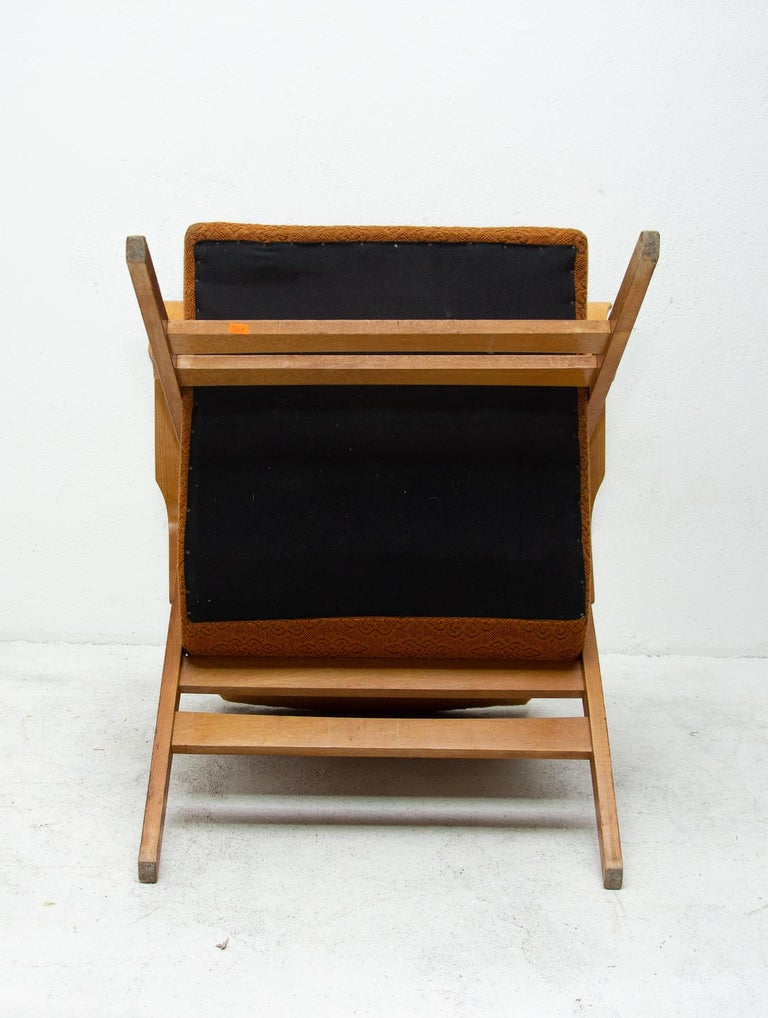 Pair of Midcentury Bentwood Armchairs by František Jirák for Tatra Nábytok For Sale 8