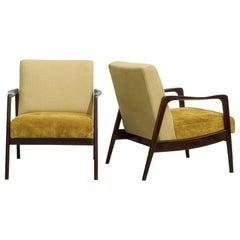 Pair of Midcentury Brazilian Armchairs by Liceu de Artes e Ofícios, 1960s