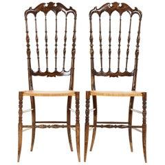 Pair of Midcentury Chairs by Chiavari, 1950s