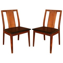 Pair of Midcentury Chairs in the Style of Edward Wormley