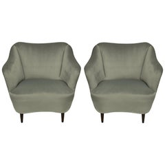 Pair of Midcentury Cocktail Chairs