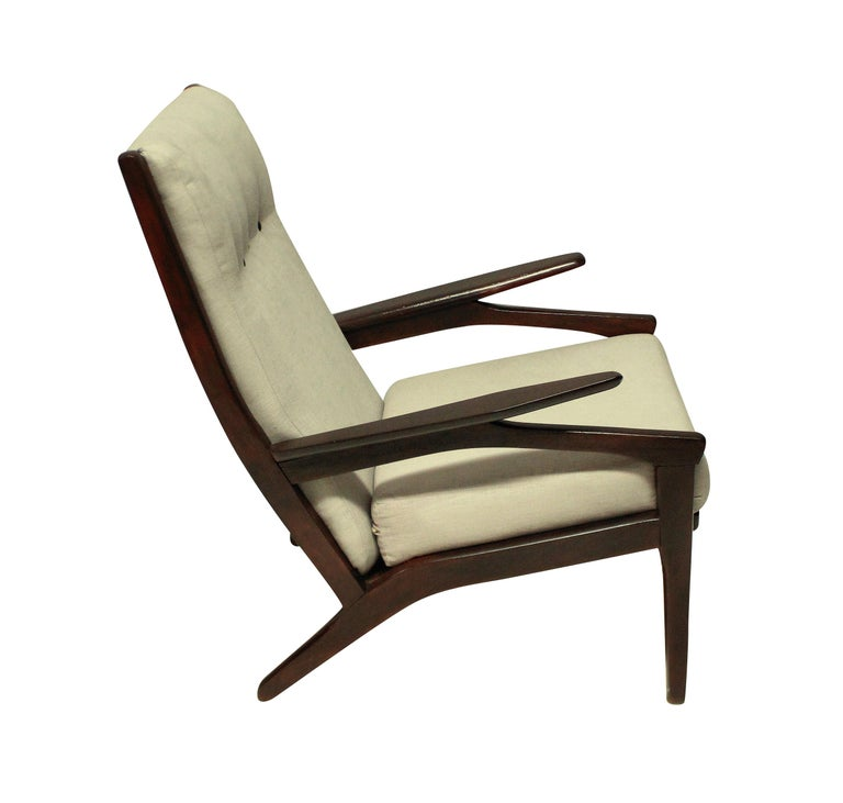 Pair of Midcentury Danish Armchairs In Good Condition In London, GB