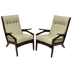 Pair of Midcentury Danish Armchairs
