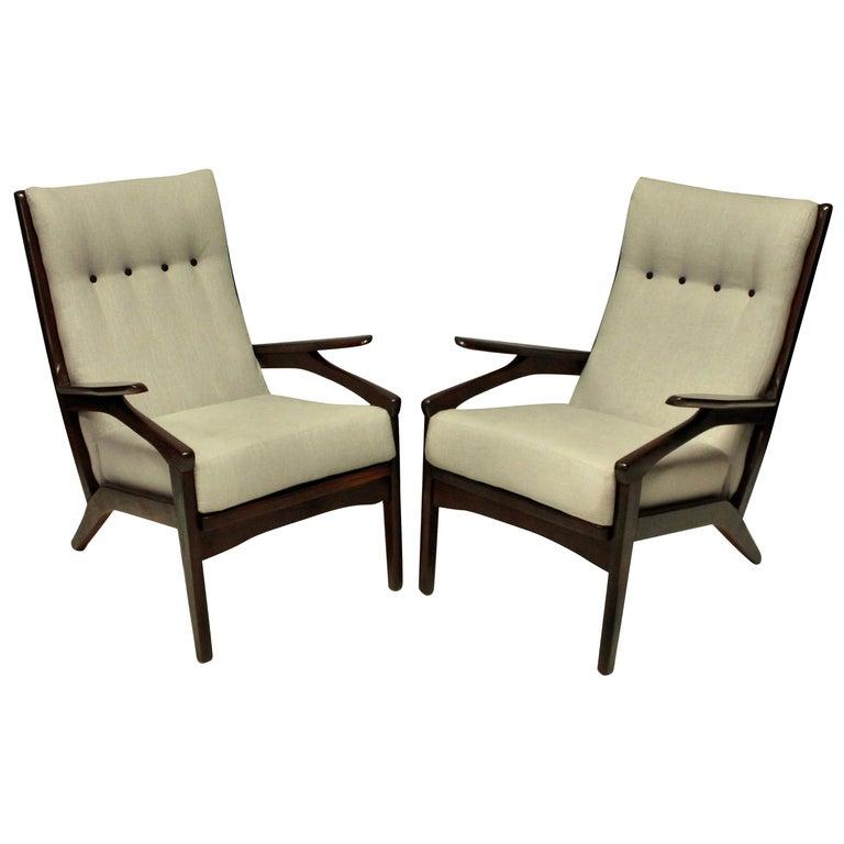 Pair of Midcentury Danish Armchairs