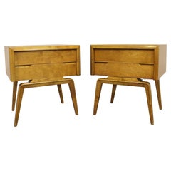 Pair of Midcentury Danish Modern Edmond J. Spence Nightstands