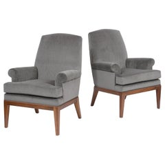 Pair of Danish Style Lounge Chairs