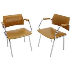 Pair of Midcentury Design Armchairs, Italy, 1970s