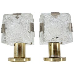Pair of Midcentury Design Table Lamps, 1970s