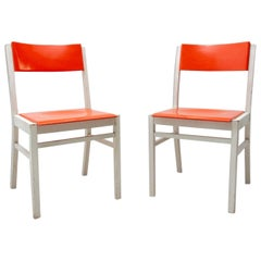 Pair of Midcentury Dining Chairs TON, 1960s, Czechoslovakia