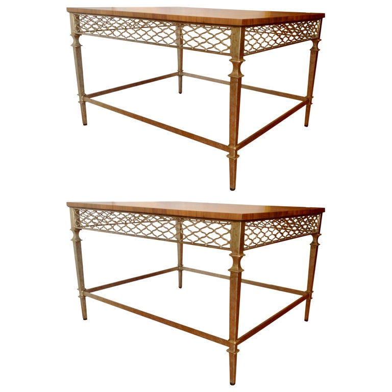 Pair of Midcentury End Tables For Sale
