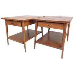 "Pair of Midcentury End Tables, Paul McCobb's ""Planner Group"" Line"