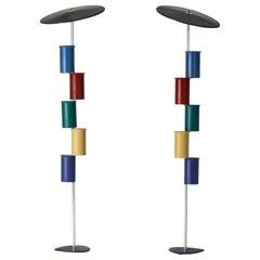 Pair of Midcentury Floor Lamps by Simon Henningsen