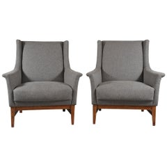 Pair of Midcentury French Armchairs