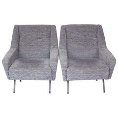 Pair of Midcentury Italian Chairs