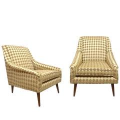 Pair of Midcentury Italian Club Chairs