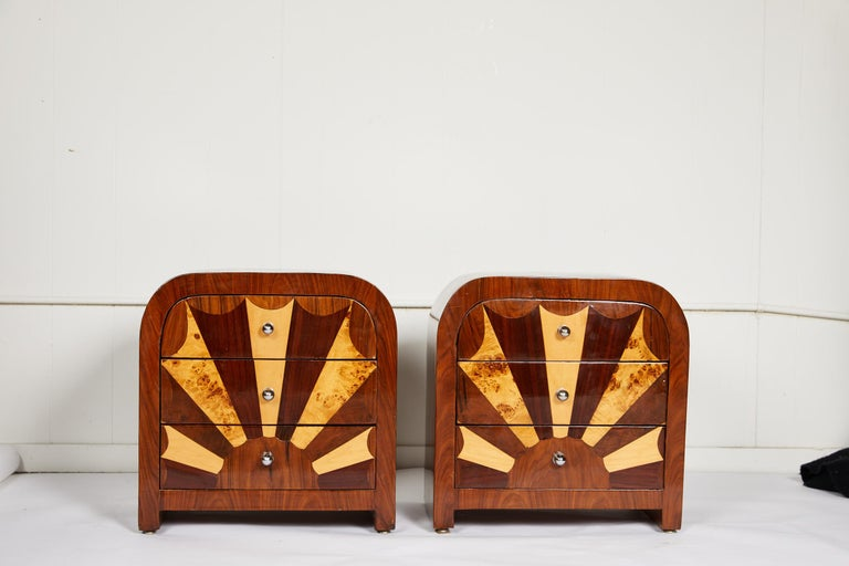 20th Century Pair of Midcentury Italian Side Tables For Sale