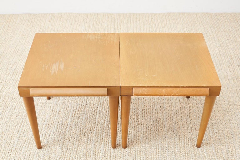 Pair of Midcentury John Keal for Brown Saltman Drink Tables For Sale 6