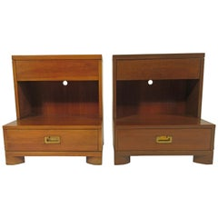 Pair of Midcentury John Widdicomb Nightstands