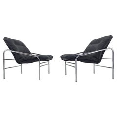 Pair of Midcentury Lounge Armchairs, Germany, 1970s