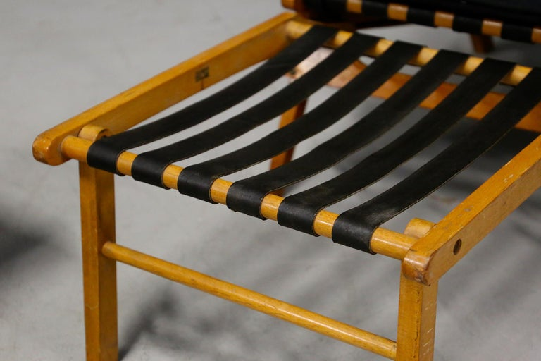 Pair of Midcentury Lounge Chairs Attributed to Studio BBPR from 1950s For Sale 4