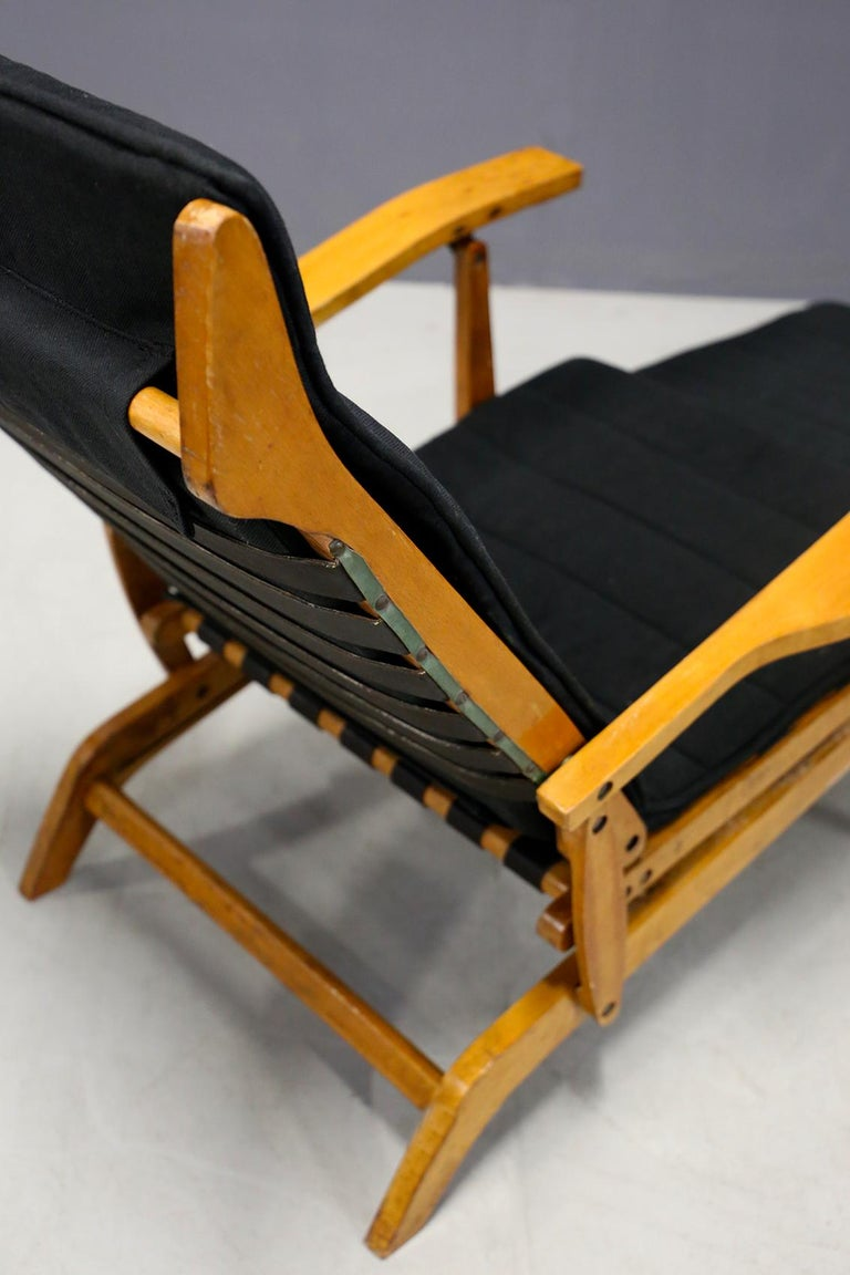 Italian Pair of Midcentury Lounge Chairs Attributed to Studio BBPR from 1950s For Sale