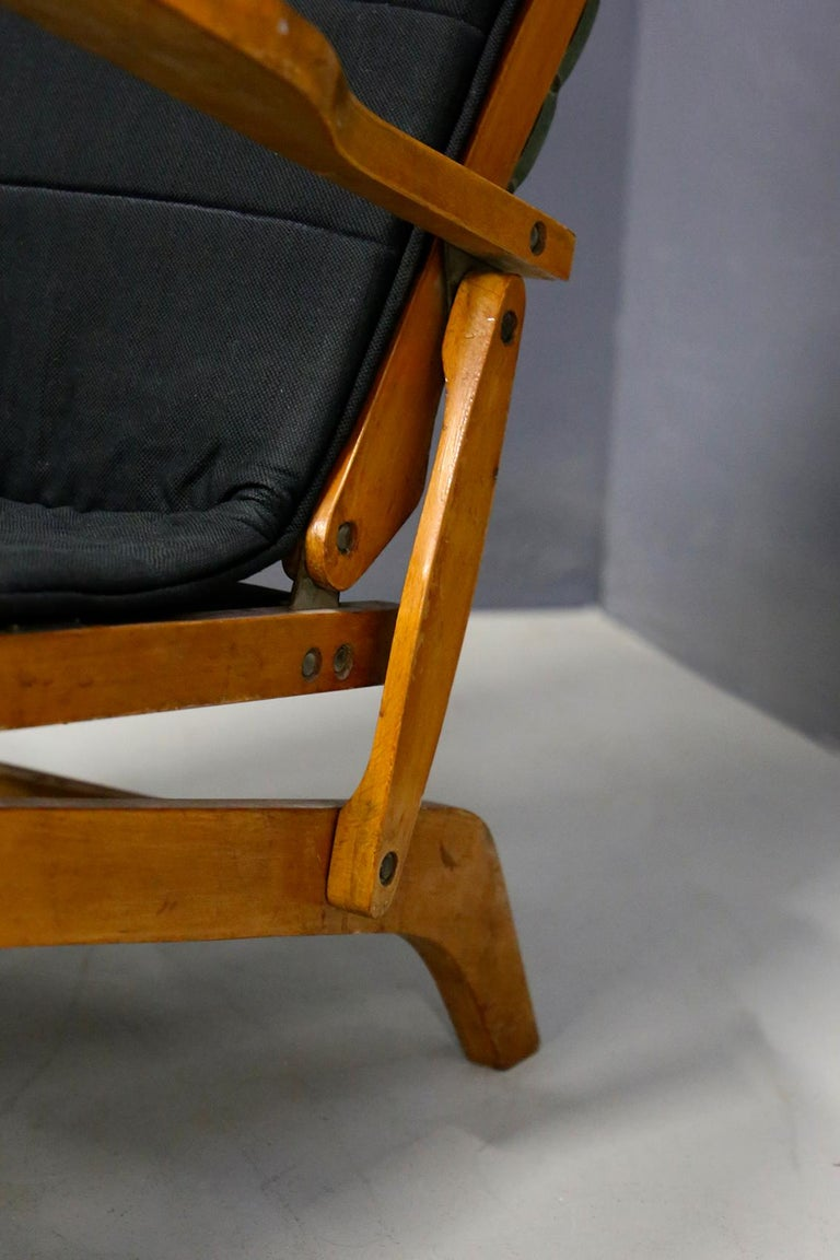 Pair of Midcentury Lounge Chairs Attributed to Studio BBPR from 1950s In Good Condition For Sale In Milano, IT