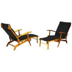 Pair of Midcentury Lounge Chairs Attributed to Studio BBPR from 1950s
