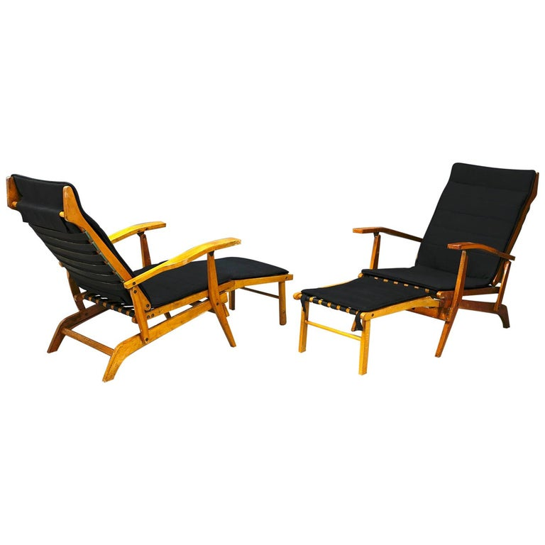 Pair of Midcentury Lounge Chairs Attributed to Studio BBPR from 1950s For Sale