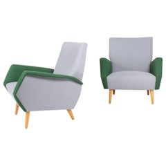 Pair of Midcentury Lounge Chairs by Gio Ponti