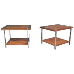 Pair of Midcentury Modern Side Tables