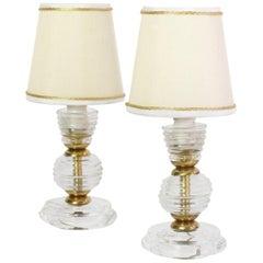 Pair of Midcentury Murano Bedside Lamp, 1940s
