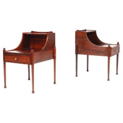 Pair of Midcentury Nightstands in Rosewood, 1960s