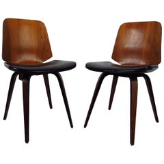 Pair of Midcentury Plycraft Chairs