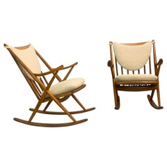 Pair of Midcentury Rocking Chair