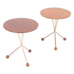 Pair of Midcentury Side Tables by Albert Larsson, 1960s