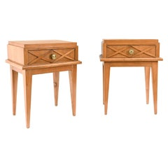 Pair of Midcentury Side Tables in the Style of Maison Gouffé, Paris