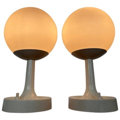 Pair of Midcentury Space Age Table Lamps, 1970s