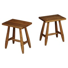 Pair of Midcentury Stools from Sweden, circa 1960