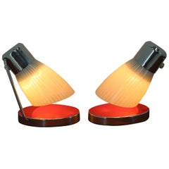 Pair of Midcentury Table Lamps by Drupol, 1960s