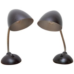 Pair of Midcentury Table Lamps by Eric Kirkman Cole for Elektrosvit, 1940s
