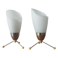 Pair of Midcentury Table Lamps Kamenicky Senov, 1970s