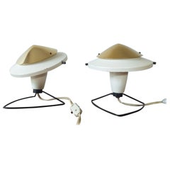 Pair of Midcentury Table or Wall Lamps Zukov, 1950s